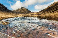Glen Rosa (Scottish Gaelic: Gleann Ruasaidh) is a glen near Goat Fell on the Isle of Arran in the Firth of Clyde, western Scotland