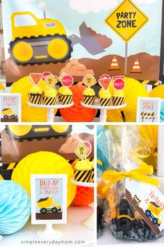 Find everything you need to plan the best construction party including printables, decorations, food ideas, party supplies, favors and more! Construction Birthday Parties, Construction Party, Game Ideas, Food Ideas, Birthday Party Themes, Girl Birthday, Party Planning, Cake Toppers, Party Supplies