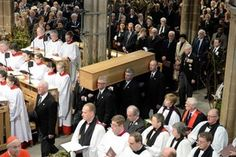 Richard III's coffin received into Leicester Cathedral in preparation for the reinterment | Leicester Mercury