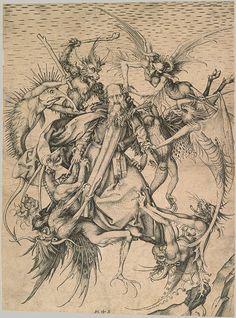 Martin Schongauer: Saint Anthony Tormented by Demons (20.5.2) | Heilbrunn Timeline of Art History | The Metropolitan Museum of Art