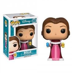 Figurine POP Disney Winter Belle with Birds (Exclusive)
