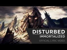 Disturbed - Immortalized [Official Lyric Video] - YouTube #disturbed #immortalized