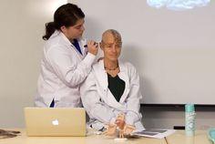 Professor Shaves Her Head For A Neuroscience Demonstration   Mental Floss