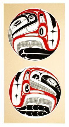 Robert Davidson ( Haida )  - I Am You and You Are Me