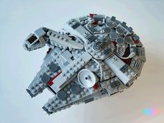 King_arthur Millennium Falcon v2 - Come visit us at www.hothbricks.com, www.lordofthebric... & www.brickheroes.com for up to date news about LEGO stuff