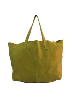Yellow Suede Bag Rs. 2,200.00  Availability: In stock      Description     Additional Information     Comments  Yellow suede leather light weight shopper bag  Cotton pouch attached inside for extra storage
