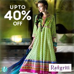 With its colorful fabrics & stylish designs, Rangriti is a salute to the spirit of joy within every woman. Shop their collection here : https://goo.gl/1cQtQX #Rangriti #Kurtiswithstyle #Ethnicelegance #shopthemnow