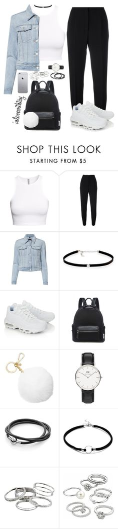 """""""88❤"""" by inlovewithtay ❤ liked on Polyvore featuring H&M, Dolce&Gabbana, J Brand, Carbon & Hyde, NIKE, Lamoda, Michael Kors, Daniel Wellington, Kendra Scott and Candie's"""