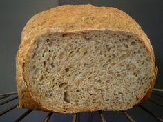 La cocina de bruja_69: Pan de avena, apto para la Dieta Dukan, Panificadora.