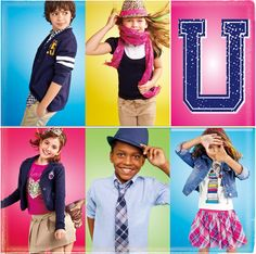 Back to School Uniforms from the Children's Place