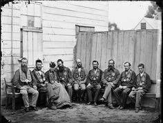 Unidentified group from the Independent Order of Good Templars, Whanganui district