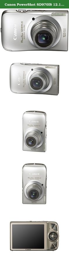 Canon PowerShot SD970IS 12.1 MP Digital Camera with 5x Optical Zoom and 3.0-inch LCD (Silver). p Cool curves, powerful features and a fun new way to operate the camera mark Canons PowerShot SD970 IS Digital ELPH. Amazing resolution and expanded editing options are yours with 12.1 megapixels, and you can even create HD movies. Shooting is fun and easy with Smart AUTO that makes all your shots better effortlessly, and theres a new user-friendly interface. /p.