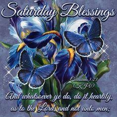 Saturday Blessings: