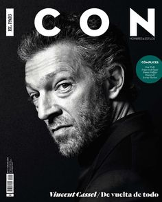 Cassel Covers Icon–Actor Vincent Cassel covers the latest issue of Icon magazine, posing for the lens of photo team Pablo Estevez and Javier Belloso. Vincent Cassel, Magazine Wall, Book And Magazine, Magazine Cover Design, Magazine Covers, Was Ist Pinterest, Actor Studio, Business Magazine, Fashion Cover