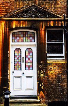 Oxford, Oxfordshire, England Cool Doors, Unique Doors, Door Knockers, Door Knobs, Doors Galore, House Doors, Window Art, Architectural Elements, Doorway
