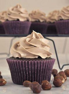 Cupcakes de nutella (Nutella Cupcakes!)