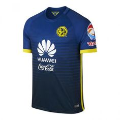 7f280cabf15 Club America 2015-2016 Season Away Bule Soccer Jersey - Click Image to  Close Soccer