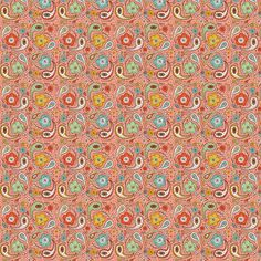 Adora Paisley - Ditsy Scale Option fabric by heatherdutton on Spoonflower - custom fabric
