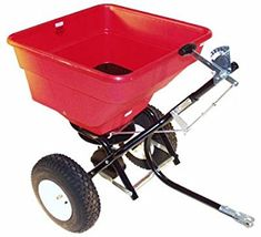 tow behind spreader reviews