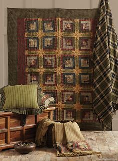 | Tea Cabin Quilted Throw