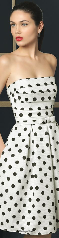 Rosa Clara dress. #polkadots #dresses