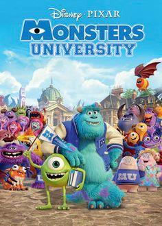 "No te pierdas ""Monsters University"" en Netflix"