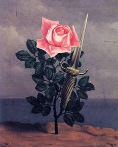 RENE MAGRITTE. Le Coup au Coeur (The Blow to the Heart) -
