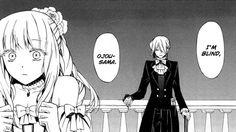 "Break and Sharon / Pandora hearts // ""I'm blind ojou-sama"" That's so sad Pandora Hearts Break, Xerxes Break, Manga Box Sets, Vanitas, Light Novel, Heart Art, Manga Anime, Book Art, The Incredibles"