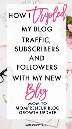 Month 3 Blog Growth Update: How I Tripled My Blog Traffic, Subscribers and Followers – Are you a new blogger? Want to know how to grow your blog traffic? I started my new blog three months ago and I've already tripled my blog traffic. Learn how I'm doing it by clicking here.
