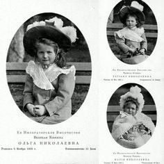 Minha collage das Grã-duquesas Olga Tatiana e Maria. Estes cards são datados de 1902 mas esta foto da Maria no canto direito abaixo é de outra data confere? Ela tava bem pequeninha nesta foto . . . . Hoje 15 de maio de 2016 faz 1 ANO que a page NAOTMAA Romanov (@grand_duchess_faby) foi criada. . . Como não amar estas grã-duquesas e pensar que tudo começou pra mim com o filme da Anastasia (que nem está na foto .) lá atrás nos meados de 2000 faz tempo pra caramba hahahaha... naquela epoca…
