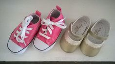 One pair is not enough! Mayoral and Converse for a babygirl