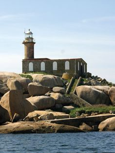 Faro de la Isla de Rúa / Galicia / Spain