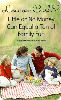 Fun on a Budget: Little or No Money Can Equal a Ton of Family Fun.  Check out these great ideas for summer!