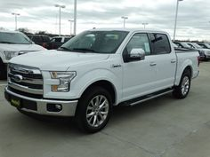 The 2016 #Ford F-150 Lariat 4X2 looks good in white.