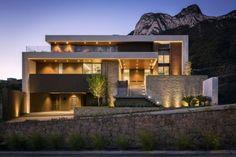 Modern luxury house design home design & ideas Big Modern Houses, Modern Mansion, Modern Homes, Contemporary Homes, Modern House Facades, Luxury House Plans, Modern House Plans, Luxury Houses, Minimalist House Design