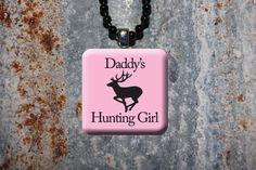 Daddy's Hunting Girl Necklace