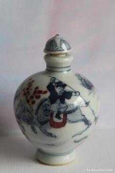 Bello perfumero botellita de tabaco  ( VENDIDA, SOLD)