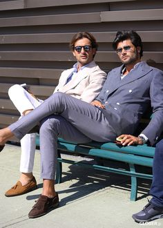 Italian Street Style - Page 55 - the Fashion Spot Gentleman Mode, Gentleman Style, Sharp Dressed Man, Well Dressed Men, Mens Attire, Mens Suits, Mens Fashion Blog, Men's Fashion, Fashion Menswear