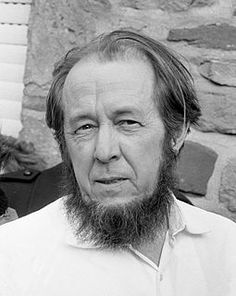 Nobel Prize winner/dissident Soviet author Aleksandr Solzhenitsyn was born today in Some of his works include The Gulag Archipelago and Cancer Ward. He was one of the most important Russian authors of the Century. He passed in Michel De Montaigne, Alexandre Soljenitsyne, Otto Von Bismarck, Nobel Prize In Literature, Global Awareness, Russian Literature, Portraits, Socialism, Communism