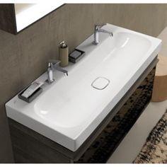 Plan vasque en marbre reconstitu cedam pour lave main for Baignoire faible largeur