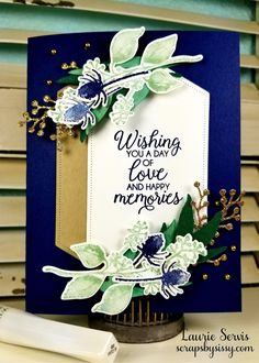 First Frost Wedding Card - Scraps By Sissy card craft First Frost Wedding Card - Scraps By Sissy Best Wishes Card, Wedding Cards Handmade, Wedding Anniversary Cards, Happy Anniversary, Baby Wedding, Happy Birthday Images, Stampin Up Cards, Men's Cards, Baby Cards