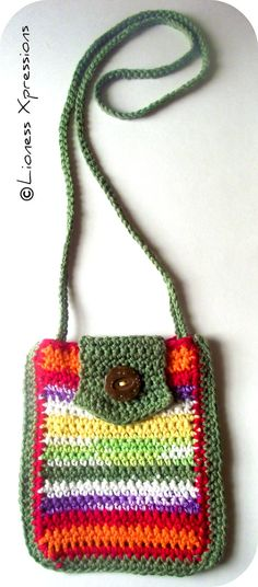 Colorful Mini Purse by LionessXpressions on Etsy, $28.00