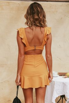 45 Brilliant summer outfits that will save your life completely making you look beautiful, trendy and always ready to impress. Hoco Dresses, Cute Dresses, Casual Dresses, Fashion Dresses, Casual Outfits, Summer Outfits, Cute Outfits, Summer Dresses, Backless Mini Dress