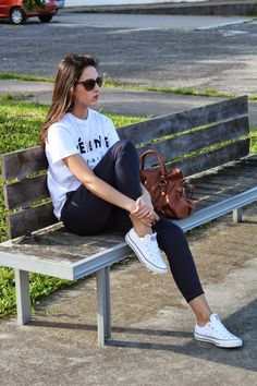 White  #Converse #tennis shoes; #sneakers