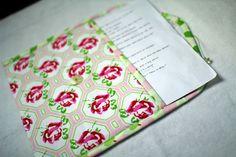 How to Make Fabric Folders