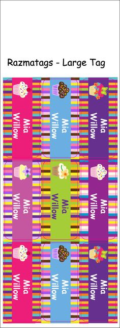 Summer Camp Labels - Personalized Labels - 4 sets of different label