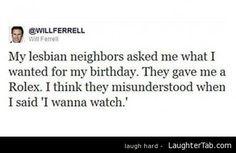 My Lesbian Neighbour. xD
