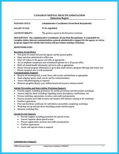 cool impressive professional administrative coordinator resume resume objective
