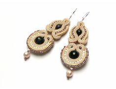 Sutasz-Anka: Sforza earrings http://www.soutage.com/2013/01/sforza-kolczyki.html