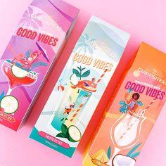 Curiositeas packaging illustration by Jasmijn Solange Evans Non Alcoholic Mojito, Good Vibes, Packaging, Concept, Creative, Holland, Evans, Illustrations, Design
